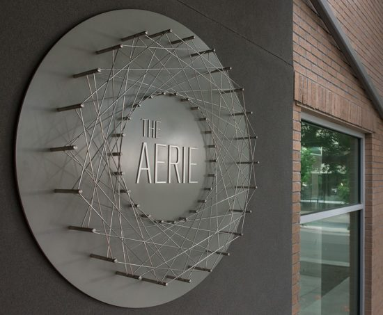 The Aerie - Sign